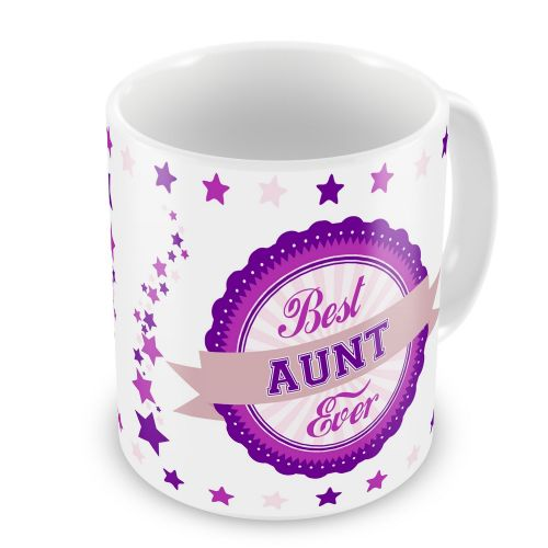 Best... Ever Novelty Gift Mug - Pink / Purple